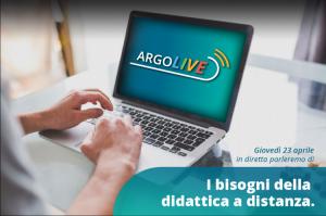 I bisogni della didattica a distanza - una diretta Argo Software